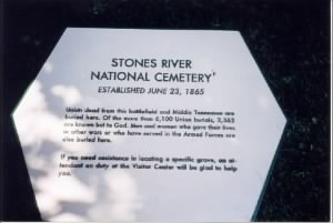 Stones River National Cemetery Tenn