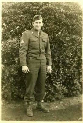 Sgt Charles Elliot Huntley Sr Army