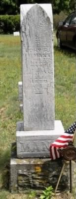 Pvt John Riley Mann Army Headstone