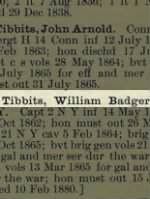 Tibbits, William Badger