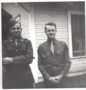 William Allen Wamsley on right