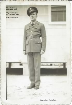 "Herbert Rodgers, prior to leaving for ""Over-Seas""... probably in SC, Columbia or Walterboro"
