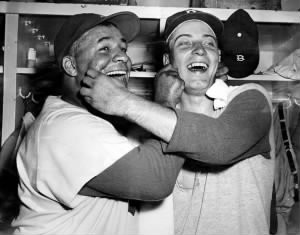 Roy Campanella Johnny Podres
