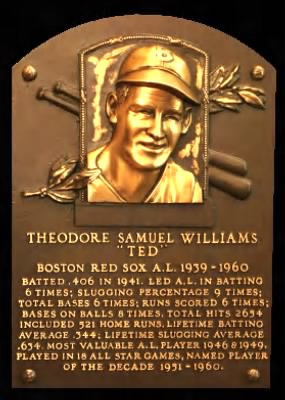 Ted Williams HOF