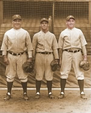 Yankee Catchers, Collins, Bengough, Grabowski