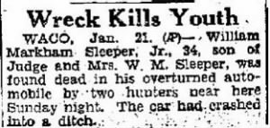 Wm M Sleeper, Jr 1935 Death Notice.JPG