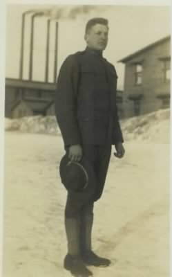 Lowell Fredrick Jones - Cpl U.S. Army WWI