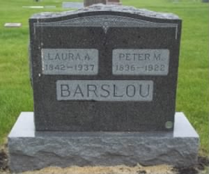 Peter Barslow grave