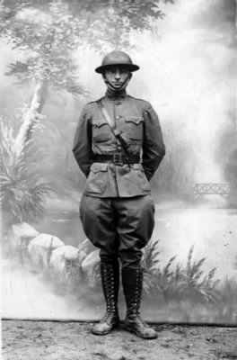Harry Truman in the Army