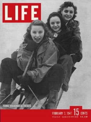 Patricia Neal on top