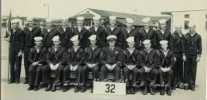 Navy basic training class