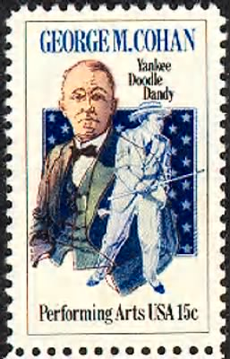George M Cohan Stamp