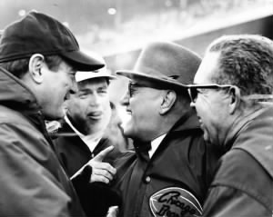 George Halas and coaches