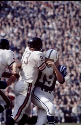 Sacking Johnny Unitas