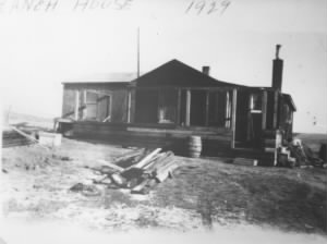 Loren and Martha's Ranch house - front porch construction 1929.jpeg