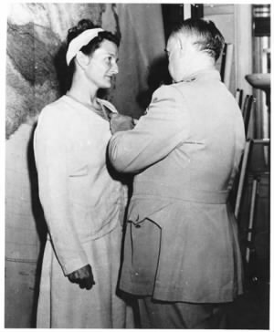 Virginia Hall receiving the Distinguished Service Cross.jpg