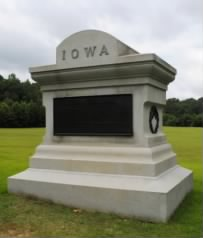 7th Iowa Monument, Hornet's Nest, Shiloh