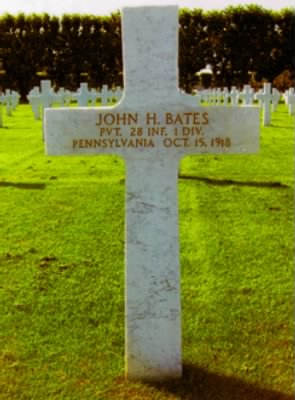 BATES John H Tombstone France Scanned for FindAGrave.jpg