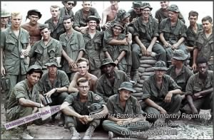 Recon Unit, 1st Battalion, 28th Infantry Regiment, 1st Infantry Division 1968