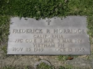 Frederick Raymon Horridge
