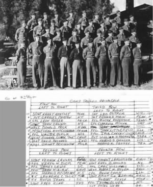 3rd Platoon - 386th Infantry Regiment 97th Inf Camp San Louis Osbispo CA
