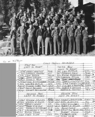 3rd Platoon - 386th Infantry Regiment 97th Inf Camp San Louis Osbispo CA - Fold3.com