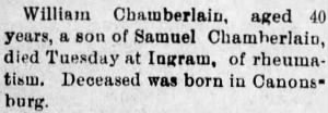 William H Chamberlin 1901 PA Death.jpg