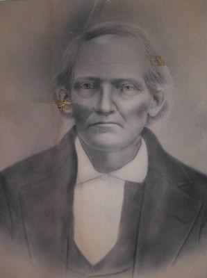 William Hardin Hickman Portrait