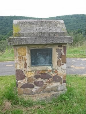 Memorial to Nancy Hanks in Mineral County, West Virginia, at the site of her birth..jpg