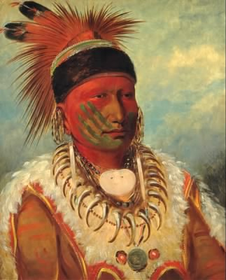 484px-George_Catlin_-_The_White_Cloud,_Head_Chief_of_the_Iowas_-_Google_Art_Project.jpg - Fold3.com