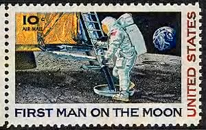 First man on the Moon.gif
