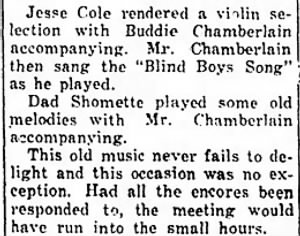 Oran Chamberlain 1932 Plays Blind Boys Song at Mtg.jpg