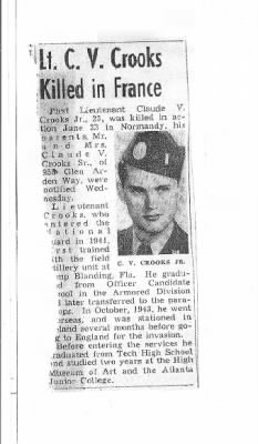 Lieut Claude Vandry Crooks, Jr Obit.jpg