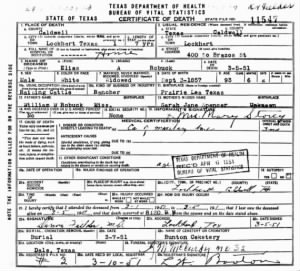 Elias A Berry Robuck 1951 TX Death Cert.jpg