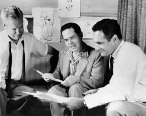 Daws Butler With Bill Hanna and Joe Barbera.jpg
