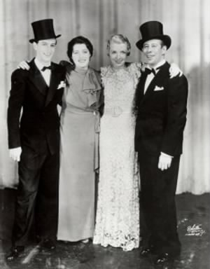 Ray Bolger, Luella Gear, Frances Williams, and Bert Lahrr.jpg