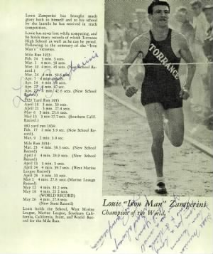 Louis Zamperini Torrance Yearbook 1934.jpg