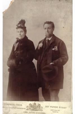 William Henry Thomas and Caroline Clarke Thomas