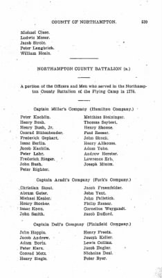 Battalions Not Stated Northampton County Miltia. › Page 539 - Fold3.com
