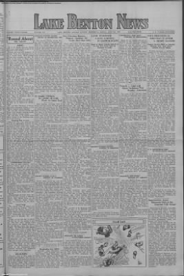 1936-Jun-5 Lake Benton Valley News, Page 1