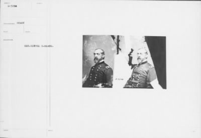 Mathew B Brady Collection of Civil War Photographs › B-3298 Gen. George G. Meade. - Fold3.com