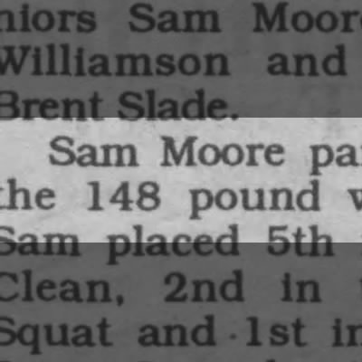 powerlifting record