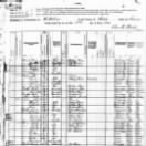 1880 Federal Census, Nathan B Kennedy Family