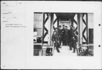 Mathew B Brady Collection of Civil War Photographs › B-1 Gen. Edward Ferring and Staff of Seven; - Fold3.com